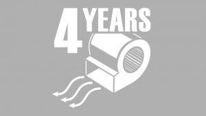 externe rotor ventilator met 4 jaar garantie