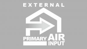 externe lucht invoer