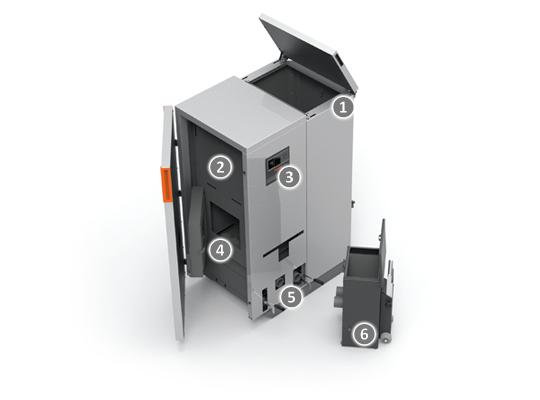 compact matic s50 class 5 pellet kachel