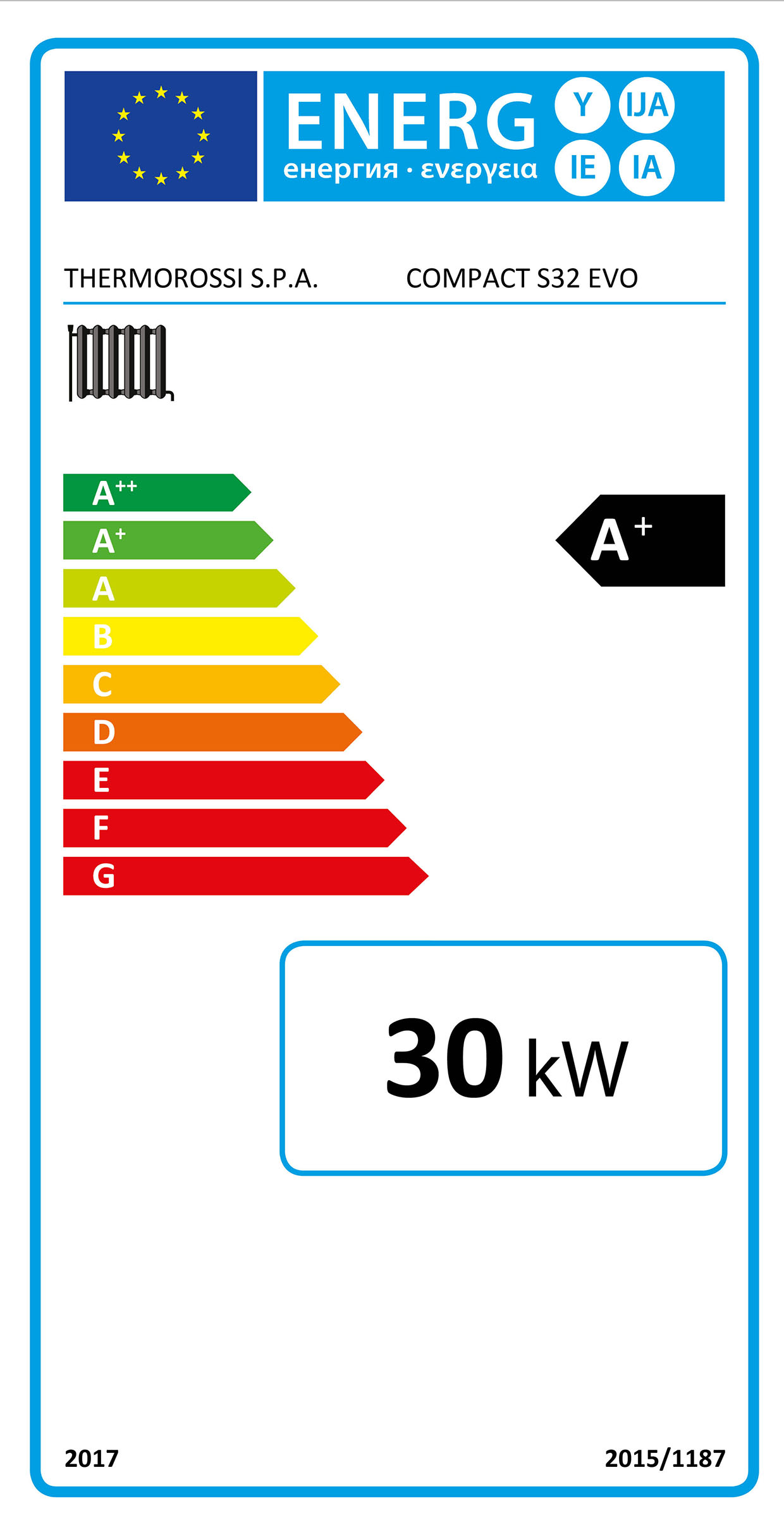 Compact-slim - Energielabel